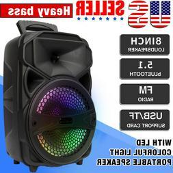 wireless portable fm bluetooth speaker subwoofer heavy