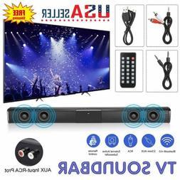 Wireless Sound Bar TV Soundbar Bluetooth Speaker Theater Ste