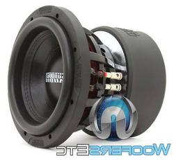 "SUNDOWN AUDIO X-8 V.3 D2 8"" 800W RMS DUAL 2-OHM CAR SUBWOOFE"