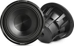"ALPINE X-W12D4 12"" 900 Watt RMS Car Audio Subwoofer DVC Dual"