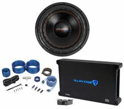 """American Bass XFL-1544 2000w 15"""" Competition Subwoofer+Mono"""