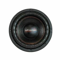 """American Bass XFL1244 12"""" Subwoofer With Dual 4 Ohm Voice Co"""