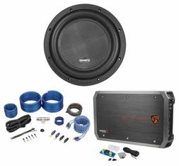 """American Bass XR-10D2 2000w 10"""" Competition Car Subwoofer+Mo"""