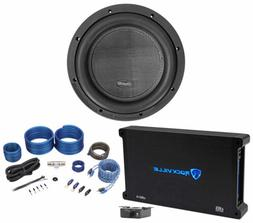 """American Bass XR-10D4 2000w 10"""" Competition Subwoofer+Mono A"""