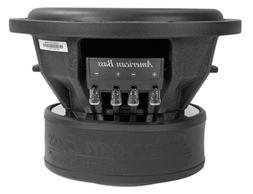 American Bass Usa XR 10D4 2000 Watt Max Dual 4Ohm 10 Inch Su