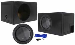 "American Bass XR-12D2 2400w 12"" Competition Subwoofer+Vented"