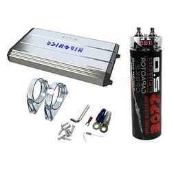 Hifonics Zeus 3200W Max Class D Monoblock Car Amplifier + Bo