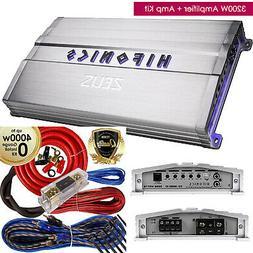 Hifonics Zeus ZXX3200.1D 3200W Class D Monoblock Car Amplifi