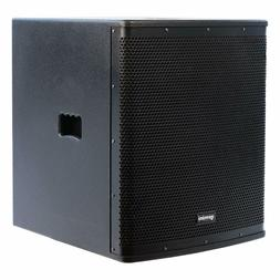 Gemini - ZRX-S18P - 18 Inch Professional Powered Subwoofer 1